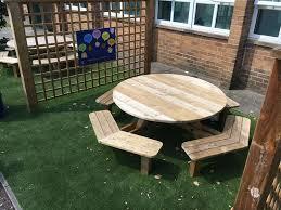 round picnic table previous next