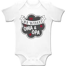Shirtracer Sprüche Baby Ihr Werdet Oma Und Opa 1 3 Monate