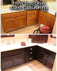 staining cabinets darker. Did You Know That If Order Cabinets From Cabinet Company In Specific Finish They Will Often Provide The EXACT SAME STAIN Used So Can With Staining Darker