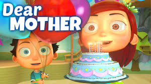 Happy birthday to you, dear! Happy Birthday Song To Mother Youtube