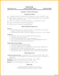 Restaurant Cook Resume Line Cook Sample Resume Skinalluremedspa Com