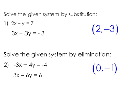 3 solve the given system