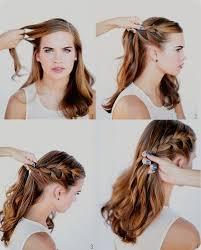 Beste Sch Ne Einfache Frisuren Selber Machen 25 Einzigartige