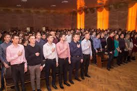 В ДГМА состоялось торжественное вручение дипломов магистрам  Церемонию вручения открыл ректор ДГМА Виктор Ковалев поздравлял магистров с успешным окончанием учебы в Академии и отметил что полученная степень магистра