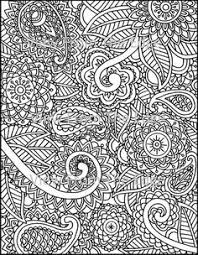 mehndi coloring page henna printable pdf by viewfromtheedge