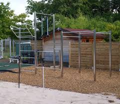 calisthenics station for outdoor use in fitness studios