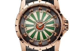 roger dubuis excalibur automatic limited edition knights of the round table monochrome watches