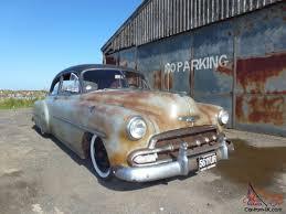 Chevrolet Styleline Deluxe 2 door hot rod rat rod Hemsby