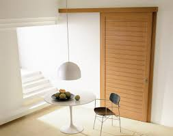 image of simple sliding door room dividers