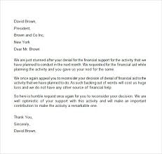 Appeal Letter - 7+ Free Samples , Examples , Format Appeal Letter for Financial Aid