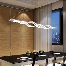 dining room hanging lights. Modren Dining L100cm New Creative Modern Led Pendant Lights Wave Hanging Lamp Dining Room  Living Light 110v 220v Globe Lighting Multi  For I