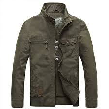 Autumn Winter Mens Casual Cotton <b>Outdoor Fashion</b> Army Green ...