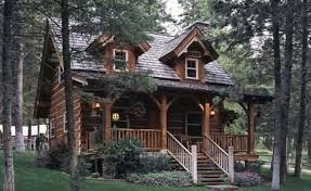 Small Log Cabin Plans   Storybook Style for Living Happily Ever After small log cabin plans