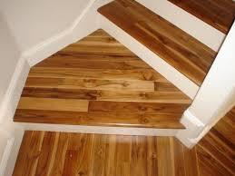 teak prefinished engineered stairs