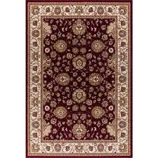 williams collection sultan red 8 ft x 11 ft area rug