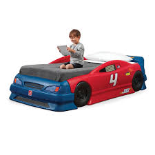 Garage Stock Car Convertible Stock Car Convertible Bed Kids Bed Step in  Kids Car Bed