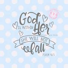 God Is Within Her She Will Not Fall Svg Toodles Decal Studio Svg