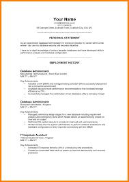 Professional Profiles How To Write A Professional Profile Resume