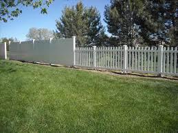 black vinyl privacy fence. Black Vinyl Privacy Fence. Fence Pvc Panels Incredible Slats Chain Link Pict V