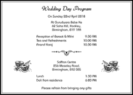 Sikh Wedding Cards Wordings Sikh Wedding Invitation Wordings