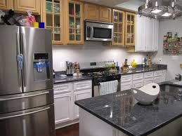 Gray Stained Kitchen Cabinets Grey Stained Kitchen Cabinets Grey Metal Chrome Single Bowl Sink