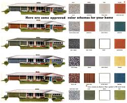 Modern Exterior Paint Colors For Houses Mid Century And Modern - Color combinations for exterior house paint