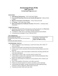 Resume Set Up Interesting Kimberleigh Pratt RTR Resume