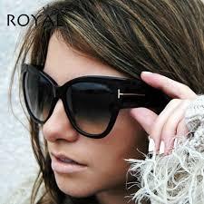 <b>ROYAL GIRL Cat Eye</b> Women Sunglasses Luxury Brand Designer ...