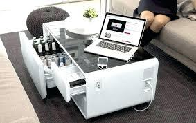 refrigerator coffee table double door refrigerator smart home coffee
