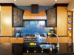 Backsplash Tile For Kitchen Glass Tile Backsplash Ideas Pictures Tips From Hgtv Hgtv