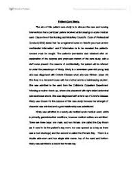 patent care study kirsty is a seventeen year old young lady who  page 1 zoom in essay