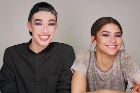 Публикация от james charles (@jamescharles) 18 фев 2018 в 6:45 pst. Watch Zendaya And James Charles Take On Their First Makeup Challenge For Covergirl Allure
