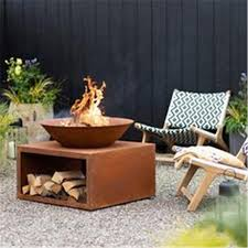 china outdoor fireplace steel garden
