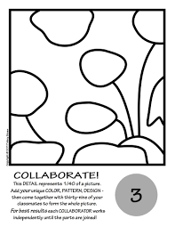 Goldfish By Matisse Collaborative Activity Coloring Pages Within