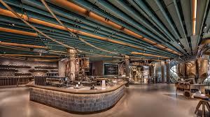 Starbucks Design Starbucks Unveils Epic 35 000sq Ft Reserve Roastery In