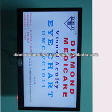Distance Visual Acuity Chart Led Vision Chart For Ophthalmic Visual Acuity Eye Chart Buy Vision Test Chart Distance Vision Charts Vision Acuity Chart Product On Alibaba Com