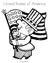 Small Picture United States of America Coloring Page Twisty Noodle