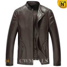 mens brown motorcycle jacket