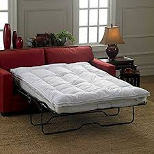 Small Picture Amazoncom Sleeper Sofa Mattress Topper Queen by Improvements