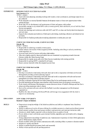 Customer Success Resume Examples Client Success Manager Resume Samples Velvet Jobs 5