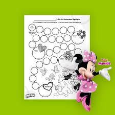 Potty Training Minnie Mouse Rewards Chart For Girls Pull Ups
