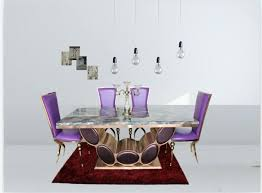 good quality marble dining table set with rose gold color 4 chairs chair glass