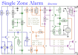 single zone alarm fire alarm loop wiring at Circuit Diagram For Fire Alarm Control Panel