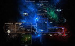 Star Chart Wallpaper Hd Wallpaper Alpha Quadrant And Beta Quadrant Star Trek