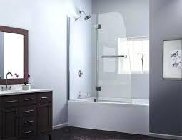 curved bathtub image of glass doors tub shower combo curved bathtub