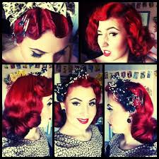 vine hair and make up inspiration 1940 s 50 s