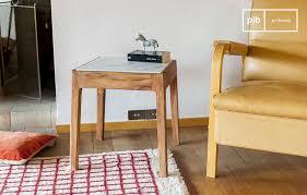 Table d'appoint carrée Marmori - Le charme du marbre   pib Belgique