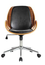 stylish desk chair. 12 Stylish And Comfortable Office Chairs / Black Wood Desk Chair I