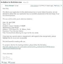 How To Confirm An Interview How To Confirm Interview Invitation Letter Bestkitchenview Co