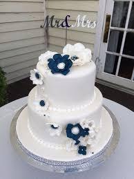 Elite Custom Cake 2 Tiered Elegant Wedding Cake Yelp